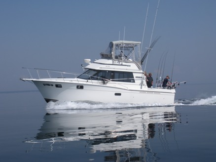 The boat hooked up charters for Sport fishing near me